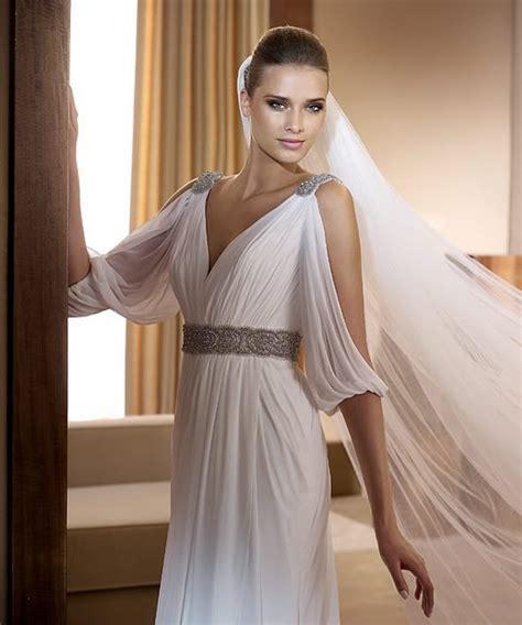 Stylish Costume Of The Day Goddess by Grecian Goddes Wedding Dress 01 Alliedfashion