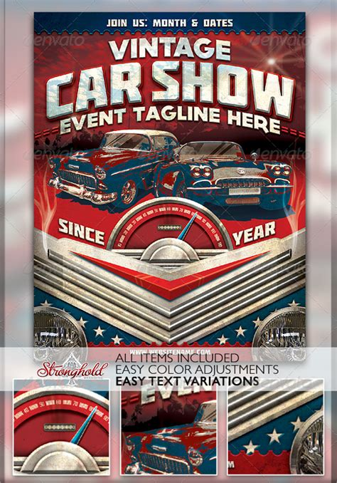 21 Car Show Flyer Templates Psd In Design Ai Free Premium Templates Show Templates