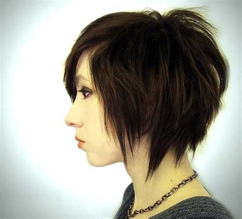 choppy inverted bob hairstyles 15 best short funky bob hairstyles bob hairstyles 2017