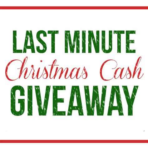 Christmas Cash Giveaway - christmas cash giveaway square dandelion patina