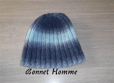 Modele Tricot Bonnet Homme