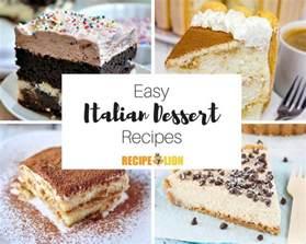 best italian desserts 24 easy italian desserts recipelion
