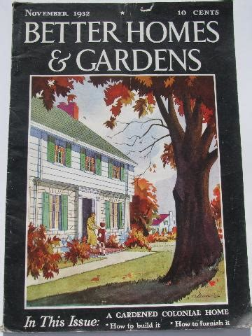 vintage  homes  gardens magazines retro ads