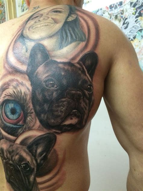 french tribal tattoos 119 best frenchbulldog tatto images on
