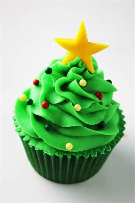 cupcakes 225 rbol de navidad con buttercream de canela