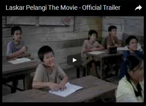 pesan film laskar pelangi laskar pelangi the movie byrest