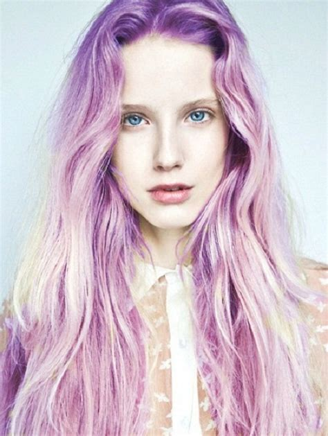 purple celbrity hair pretty in pastel 8 inspiring pastel looks styleicons