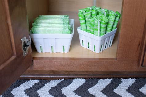 berry container bathroom storage teal and lime by jackie