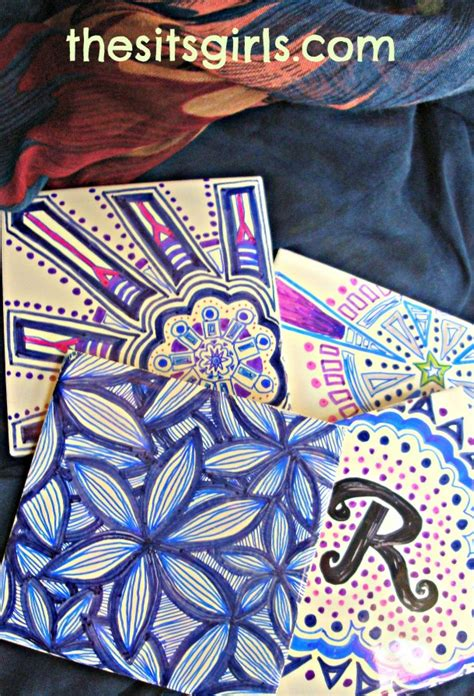 how to make your own doodle easy steps to make your own tile doodles kitchens and