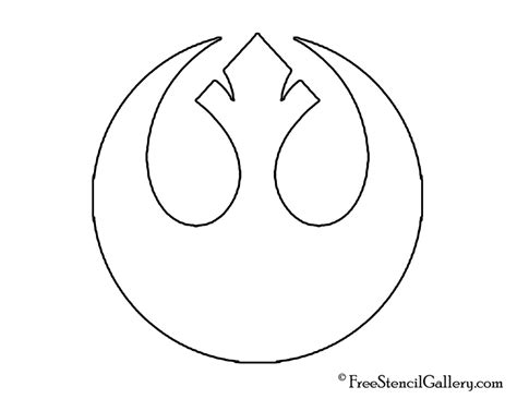 Wars Rebel Symbol Outline by Free Wars Patterns Wars Rebel Alliance Stencil Favorite Things