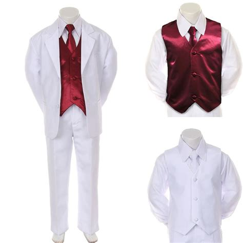 boy teen formal wedding party prom suit tuxedo