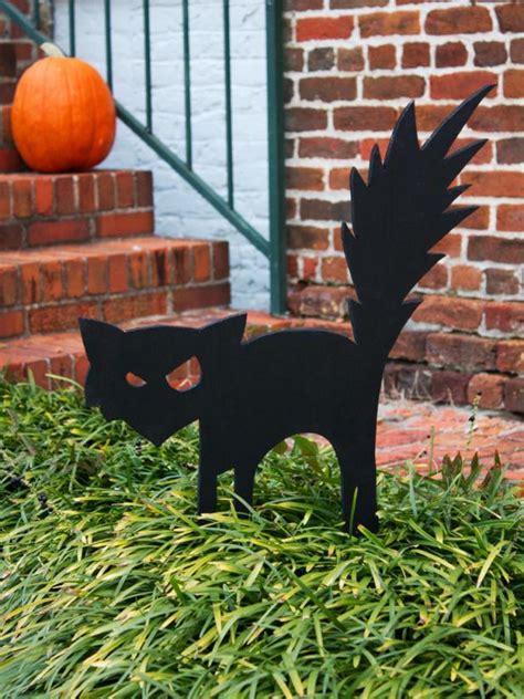 decorations black cat black cat outdoor decoration hgtv