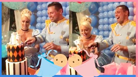 maryse kid wwe maryse and the miz reveal reveal the gender of the