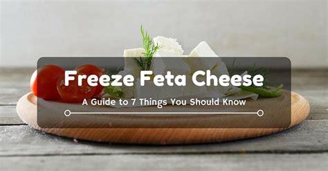 Shelf Of Feta Cheese by Freeze Feta Cheese A Guide To 7 Things You Should