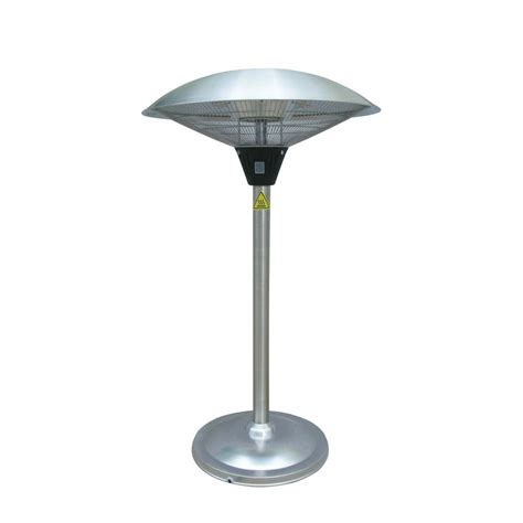 Patio Heaters Tabletop Az Patio Heaters 1 500 Watt Infrared Tabletop Electric Patio Heater Hil 1821 The Home Depot