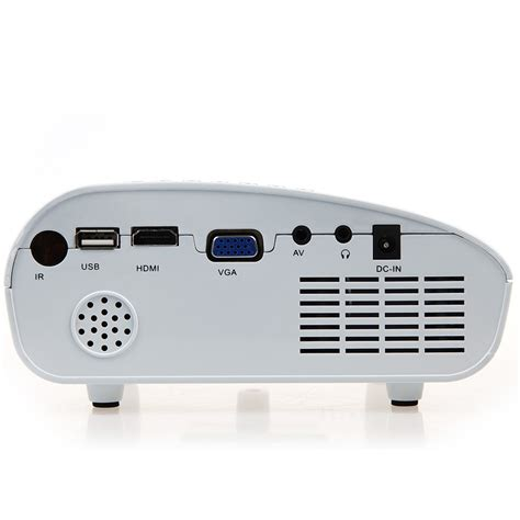 Mini Projector Led Luxeon Rd802 Mini Portable Lcd Projector Hdmi Home Theater