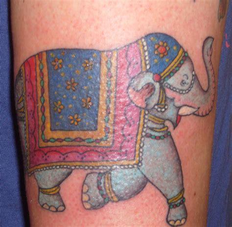 tattoo elephant indian indian elephant tattoo