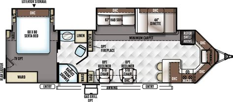 travel trailer floor plan flagstaff v lite travel trailers floor plans access rv