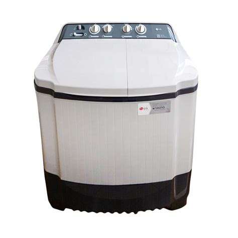 Mesin Cuci 2 Tabung Lg P800n jual lg tub washer p800n mesin cuci putih 8 kg