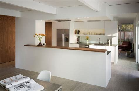 cuisine en parall鑞e modele de cuisine ouverte sur salle a manger cuisine
