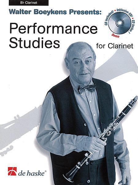 0043017967 l abc du jeune clarinettiste volume performance studies for clarinet sheet music by walter