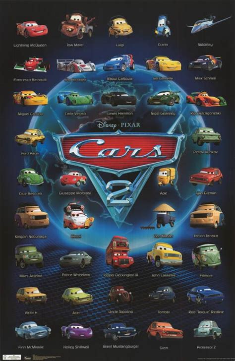 Cars Poster cars 2 posters at poster warehouse movieposter