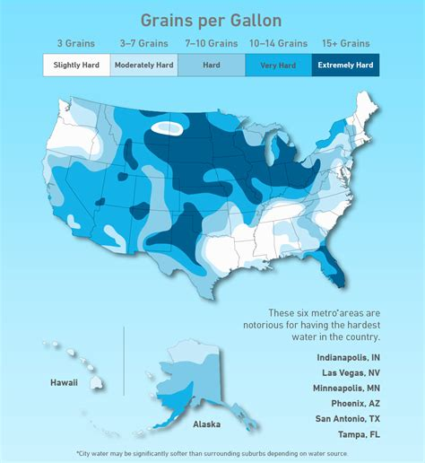 san jose water hardness map a map of water across the us