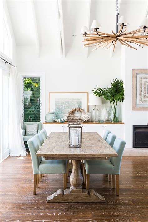 Coastal Dining Room Decorating Ideas by Best 25 Dining Room Ideas On House Interiors Florida Room Decor And