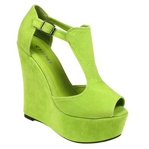 Green Also Search For 16 Best Images About Shoes On Black Wedge