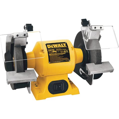 bench gringer free shipping dewalt heavy duty bench grinder 8in 3