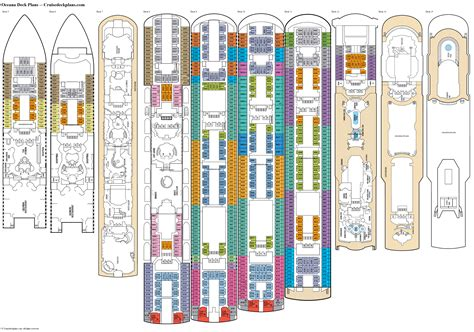 cruise ship cabin floor plans cruise ship cabin layouts oceana deck 11 deck plan tour