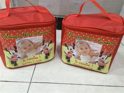 Tas Ultah Goodie Bag Model Kubus Unik 1 jual tas kubus custom goodie bag ulang tahun anak unik