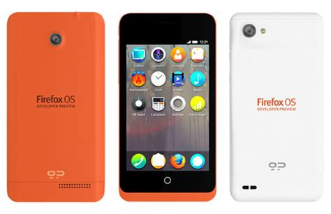 firefox mobile phone announcing the firefox os developer preview phone