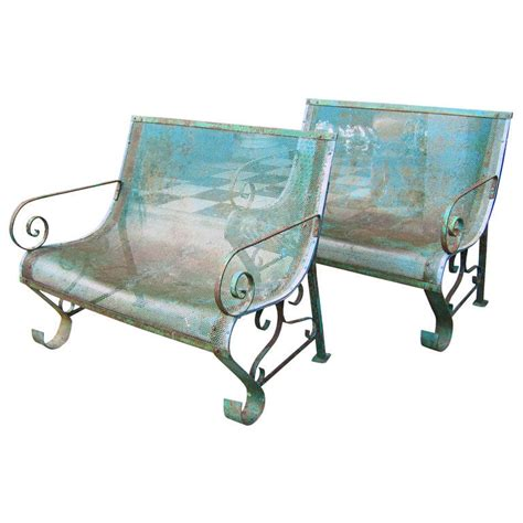 iron benches for sale two 1950s iron benches for sale at 1stdibs