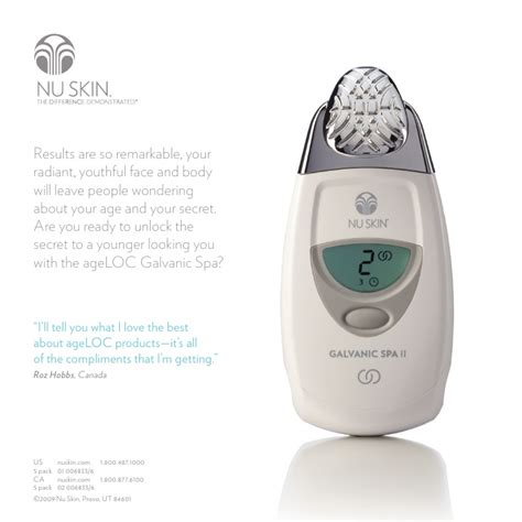 6 Tips On Using The Galvanic Spa by Age Loc Nu Skin Anti Aging Skin Care New Galvanic Spa