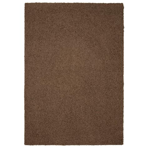 garland area rug garland rug southpointe shag chocolate 4 ft x 6 ft area