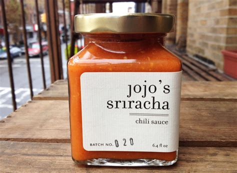 Handcrafted In Small Batches - jojo s sriracha handcrafted small batch chili sauce made