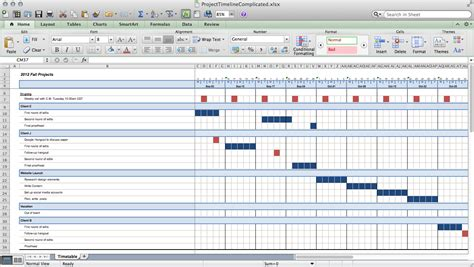 calendar timeline template excel track projects in excel like a paper books