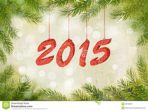 happy new year 2015 template happy new year 2015 new year design template stock vector