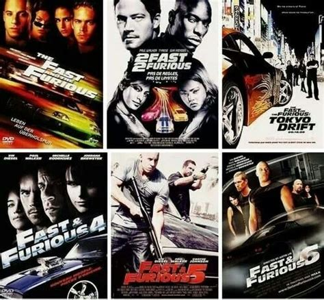 films fast and the furious all the fast and furious favoriete movies and serries