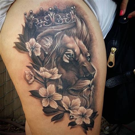lion tattoo on thigh best 25 ideas on shoulder