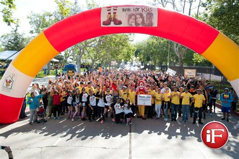 ronald mcdonald house los angeles start and finish line archways ronald mcdonald house charities los angeles