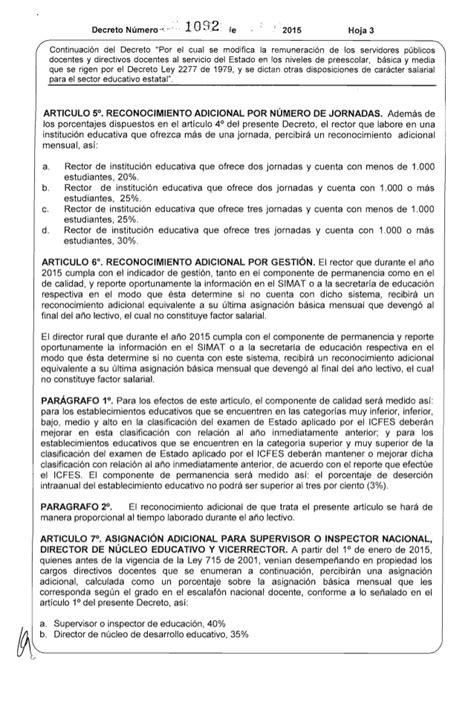 tabla salarial decreto 2277 2015 sueldo a docentes 2015 colombia autos post