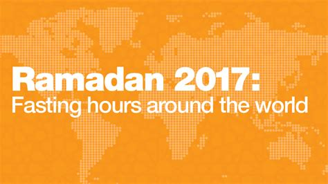 ramadan fasting hours 2018 ramadan 2017 fasting hours around the world al jazeera