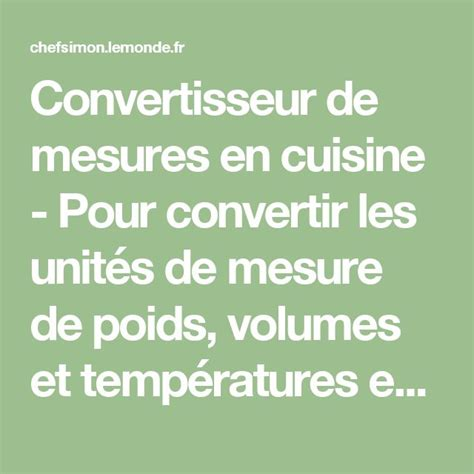 convertisseur de mesure cuisine gramme en tasse best 20 mesure de poids ideas on mesures de