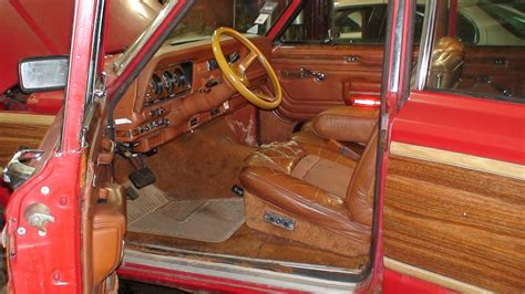 jeep wagoneer interior 1984 jeep grand wagoneer pictures cargurus