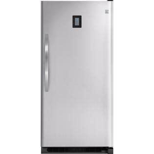 Standing Freezer Sharp kenmore elite 21 cu ft upright freezer stainless 27003