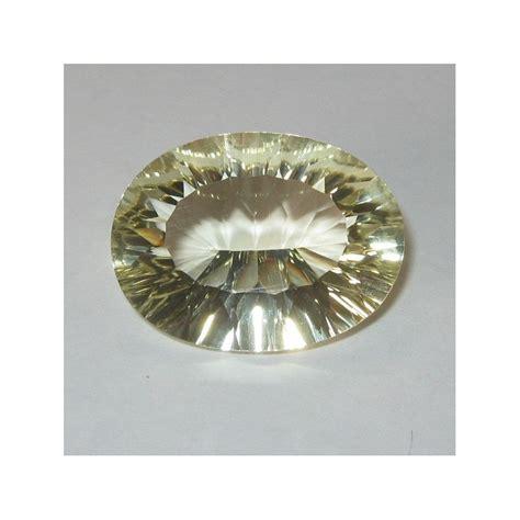 Yellow Quartz Cutting batu permata yellow lemon quartz cutting concave 13 53cts