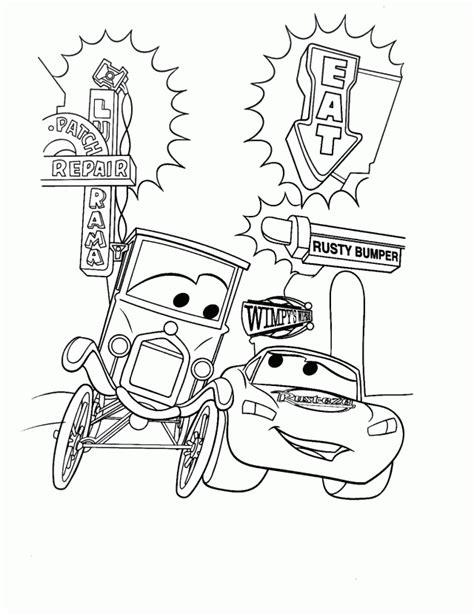 doc hudson coloring pages az coloring pages