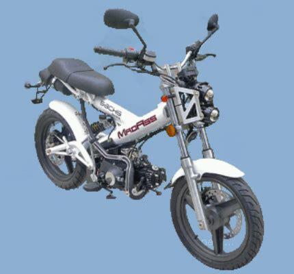 Sachs Motorrad Madass by Gebrauchte Sachs Madass 125 Motorr 228 Der Kaufen